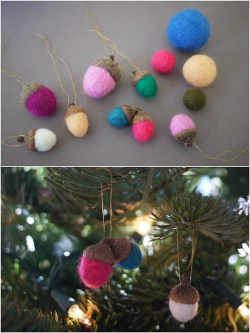 Create Mini Felt Acorns