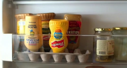 Egg Carton Condiment Caddy