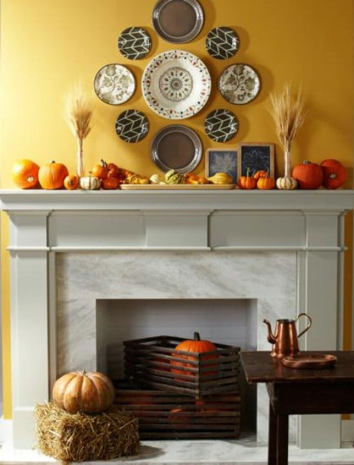 Create a Harvest Mantel