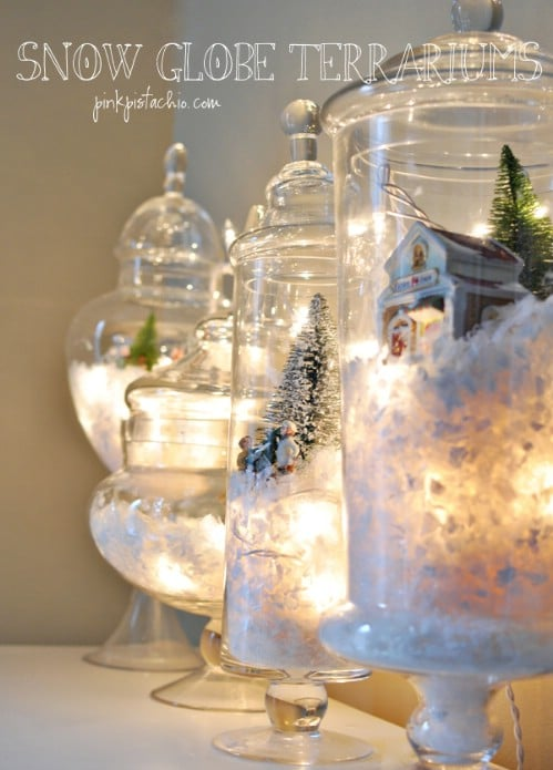 18 Beautiful DIY Christmas Lighting Decoration Ideas