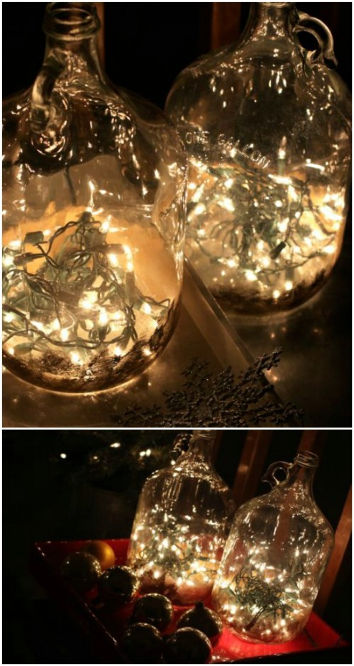30 Magically Festive String And Fairy Light Diys For