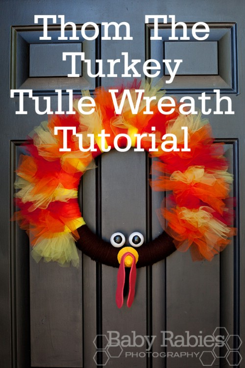 Thom the Turkey Wreath
