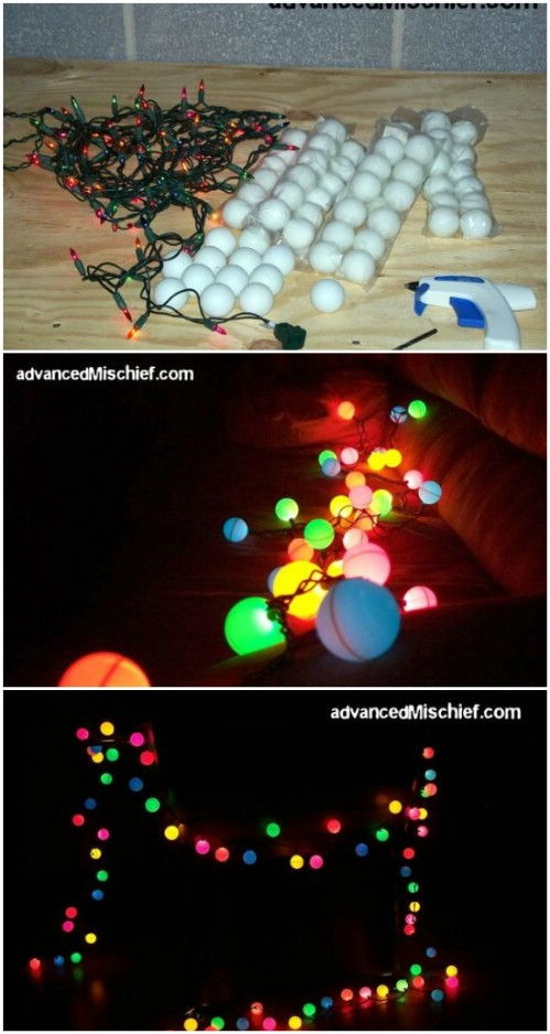 18 Beautiful DIY Christmas Lighting Decoration Ideas