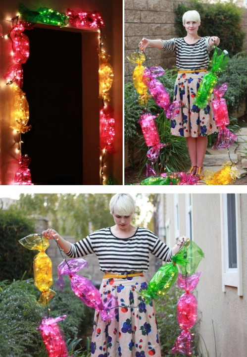 30 Magically Festive String and Fairy Light DIYs for Christmas Decorating - Page 2 of 2 - DIY ...