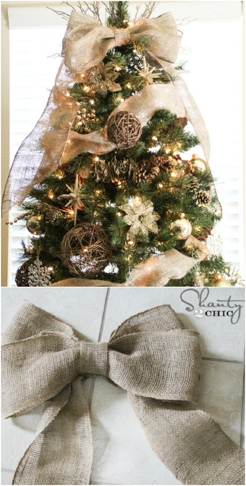 Rustic Holiday Decorating Ideas Part - 16: Tree Topper