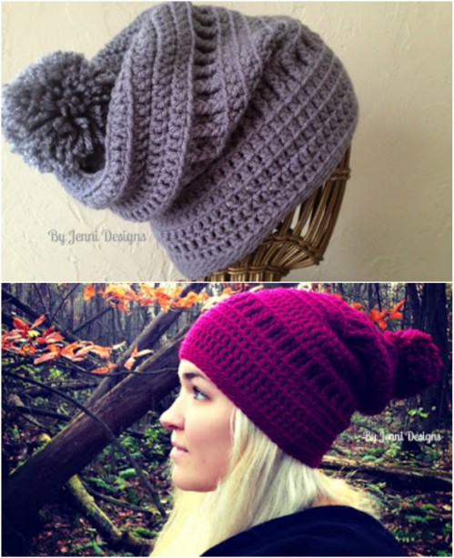 20 Gorgeous Crochet Hats To Keep You Feeling Warm And Looking Good