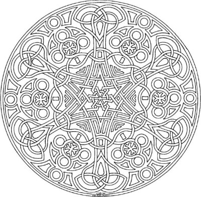 celtic - Celtic Patterns To Colour