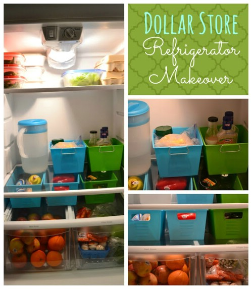 Container Storage  sc 1 st  DIY u0026 Crafts & 20 Clever Fridge and Freezer Hacks to Optimize Your Storage - DIY ...