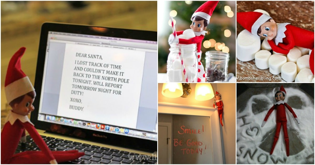 60 Amazingly Fun Ways To Decorate With Your Elf On The Shelf Diy