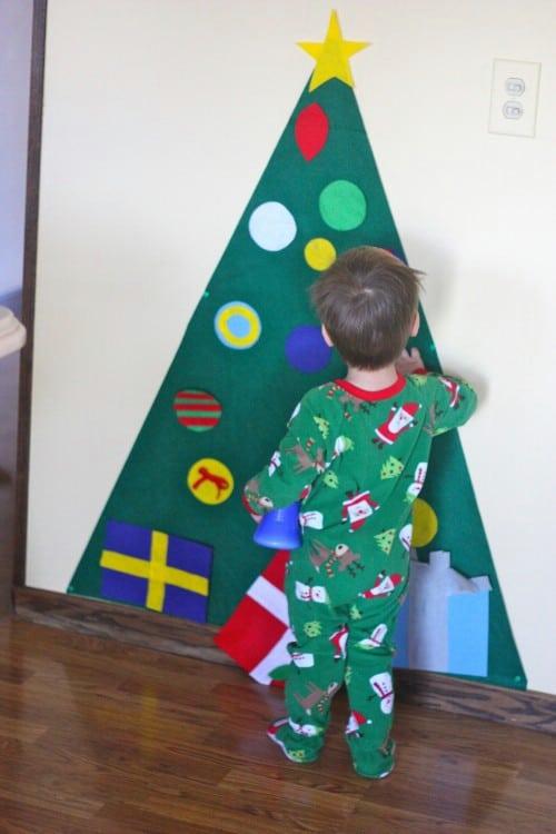 Kiddies Felt Tree
