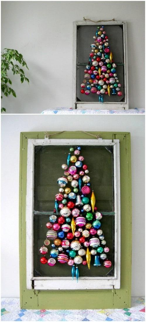 Screen Door Ornament Tree