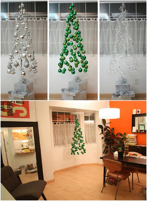 Floating Ornament Tree