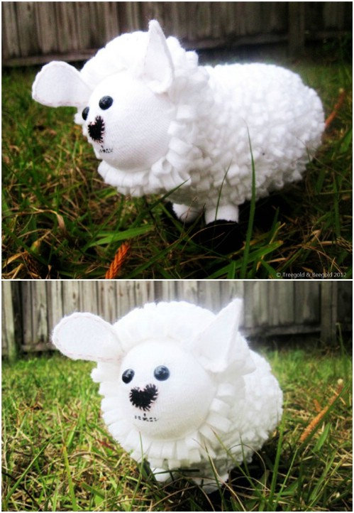 25 Hopelessly Adorable Diy Sock Toys Quick And Easy