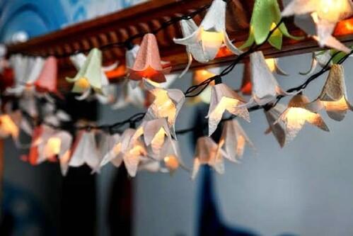 2. Egg Carton Fairy Lanterns