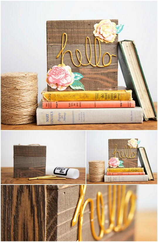 40 borderline genius glue gun projects that will enchant your life 19 make a decorative sign solutioingenieria Image collections