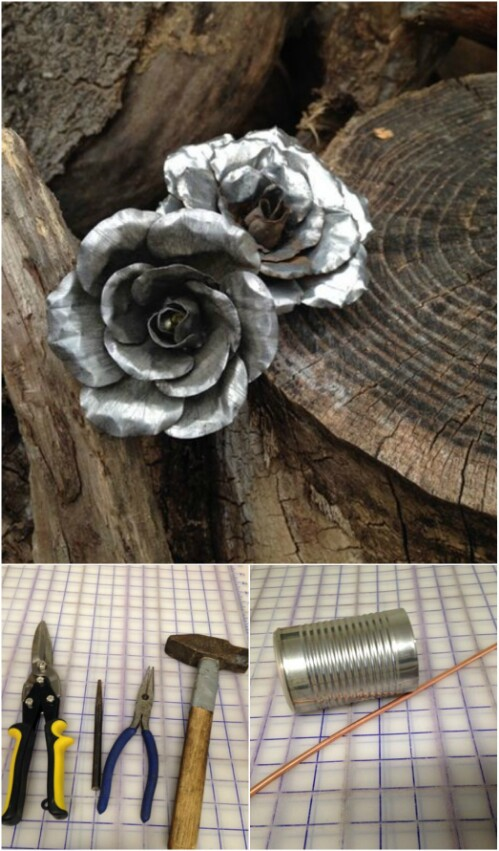Beautiful Tin Can Roses That Last Forever