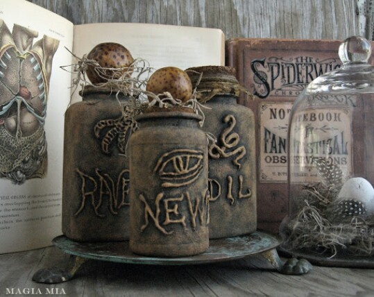 27. Make Occult Apothecary Bottles