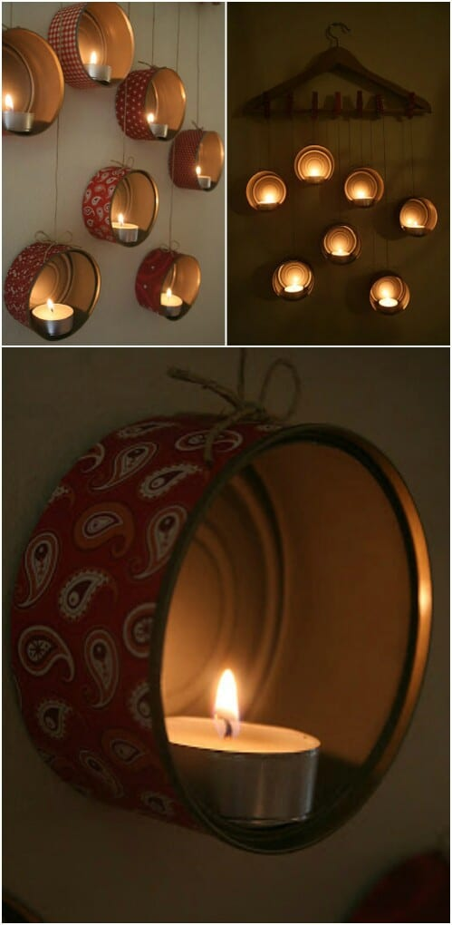 Beautiful Tin Can Lamps for Ambient Lighting