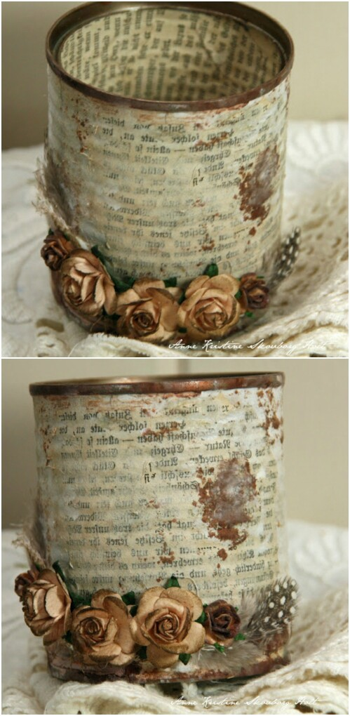 Crafts Using Metal Coffee Cans