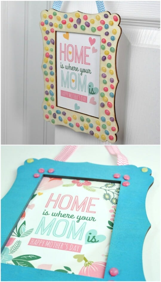 37. Embellish a Picture Frame
