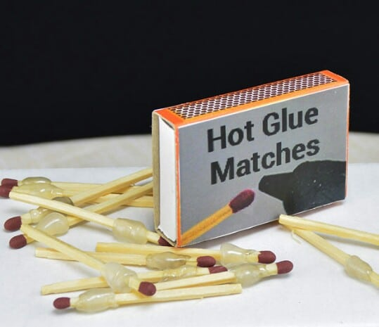 40. Look at These Convenient Portable Hot Glue Matches