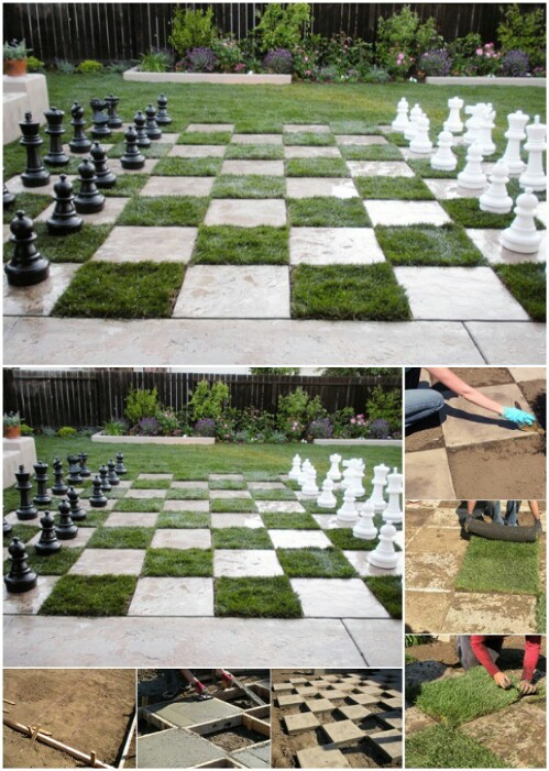 Perfect Create A Chessboard Patio