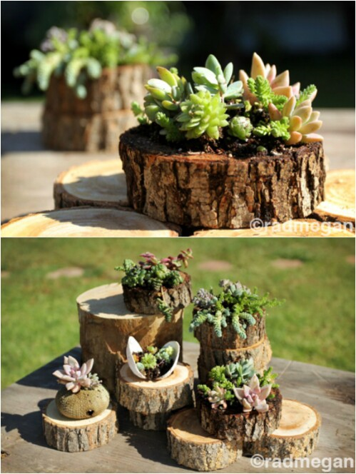 20 Amazing Flower Planters And Lawn Ornaments Made Out Of