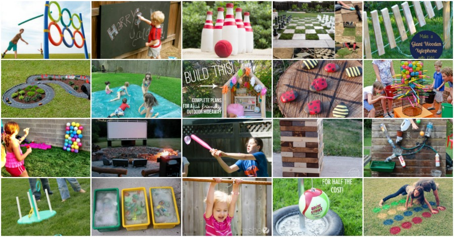 Lovely 35 Ridiculously Fun DIY Backyard Games That Are Borderline Genius   DIY U0026  Crafts