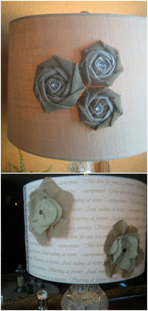 Lamp Shade Decoration