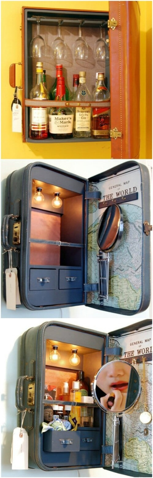 Suitcase Cabinets