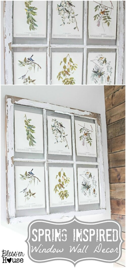 Window Wall Décor