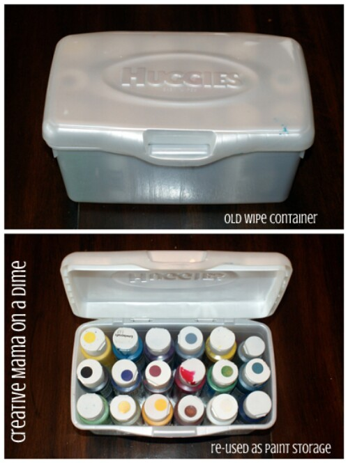 30 Surprising Ways to Re Purpose Baby Wipe Containers DIY Crafts