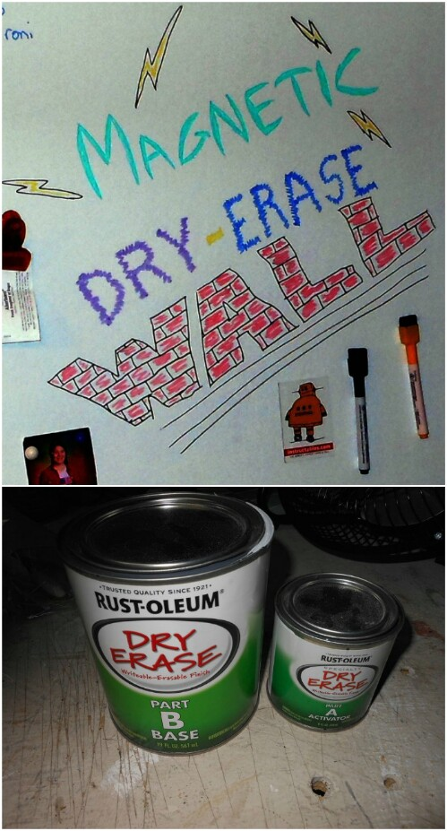 Magnetic Dry Erase Wall