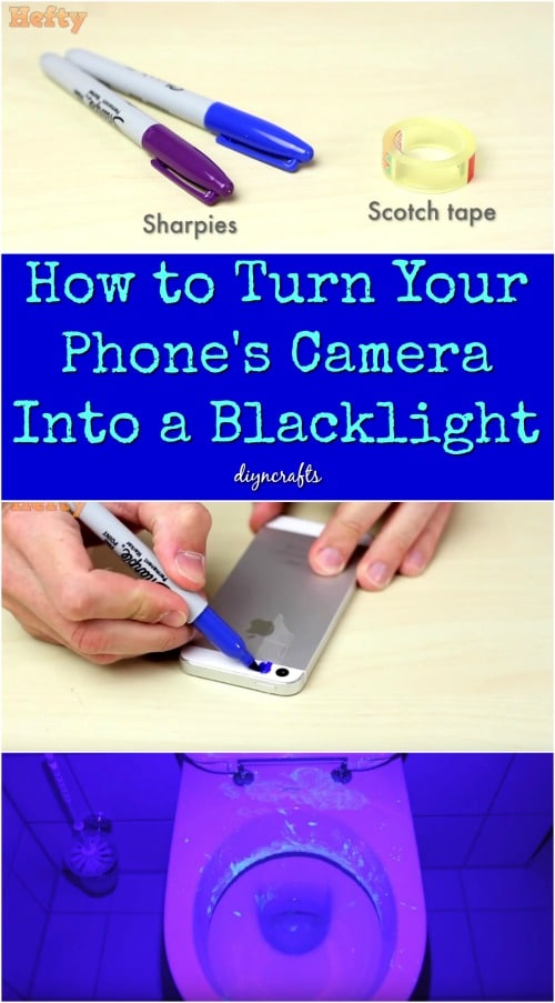 How To Turn A Garage Into A Bedroom: How To Turn Your Phone's Camera Into A Blacklight