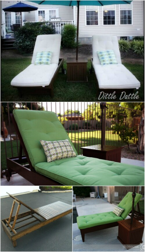 5 Elegant Sunbathing Loungers You Can Diy Free Plans