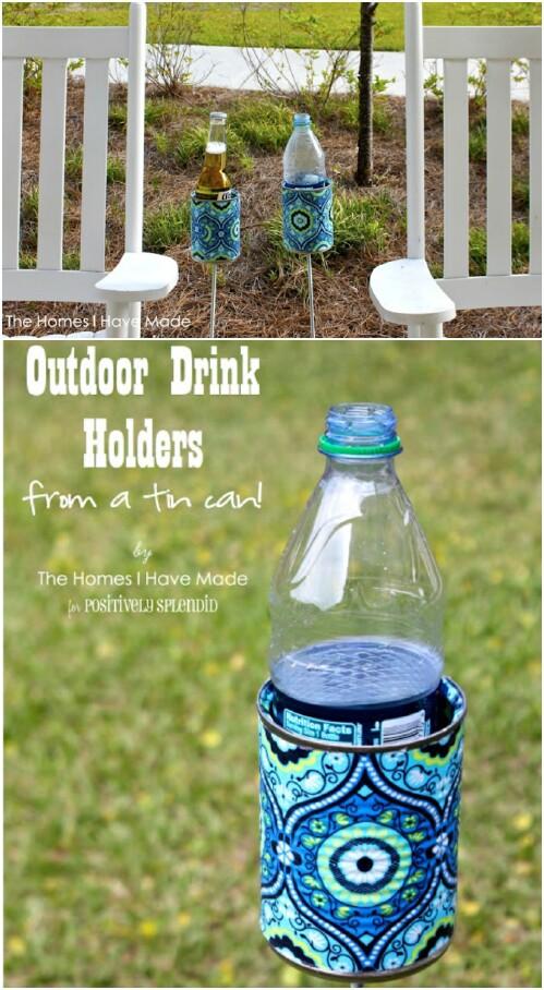 53. Outdoor Drink Holder