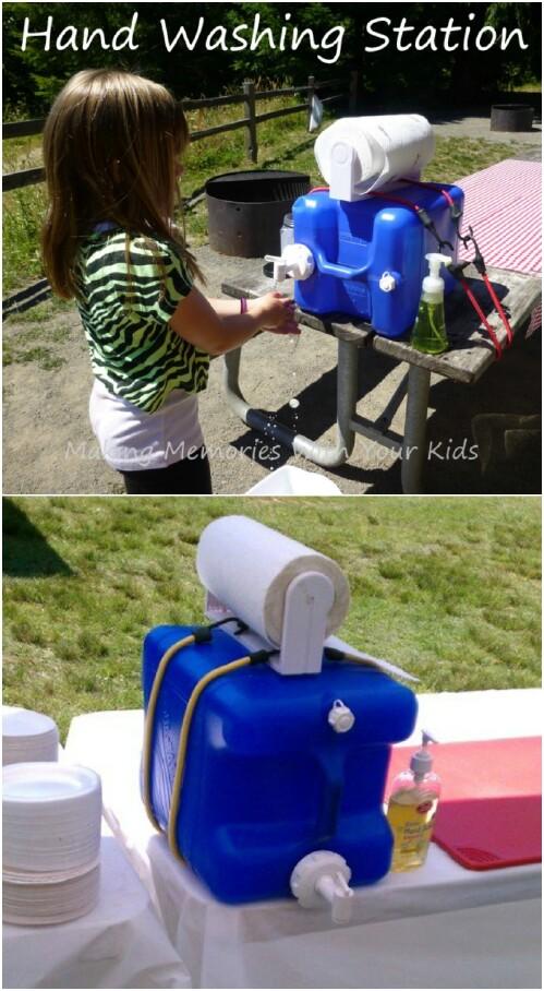 7. Camping Handwashing Station