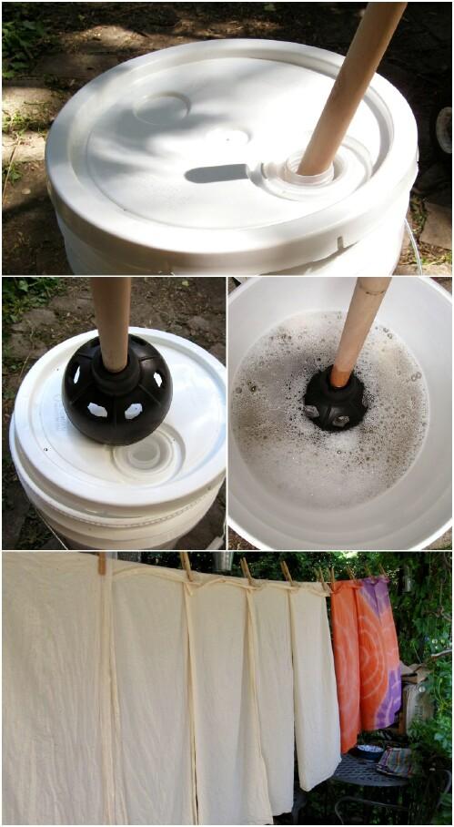 9. Campground Washing Machine