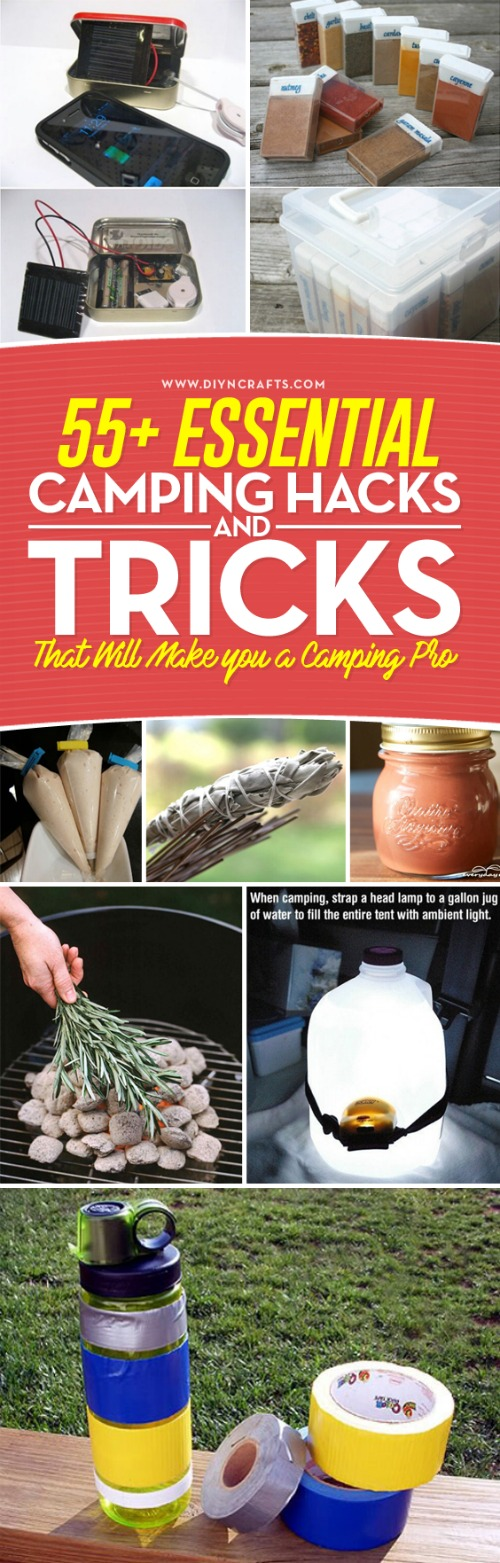 55+ Essential Camping Hacks and Tricks That Will Make you ...
