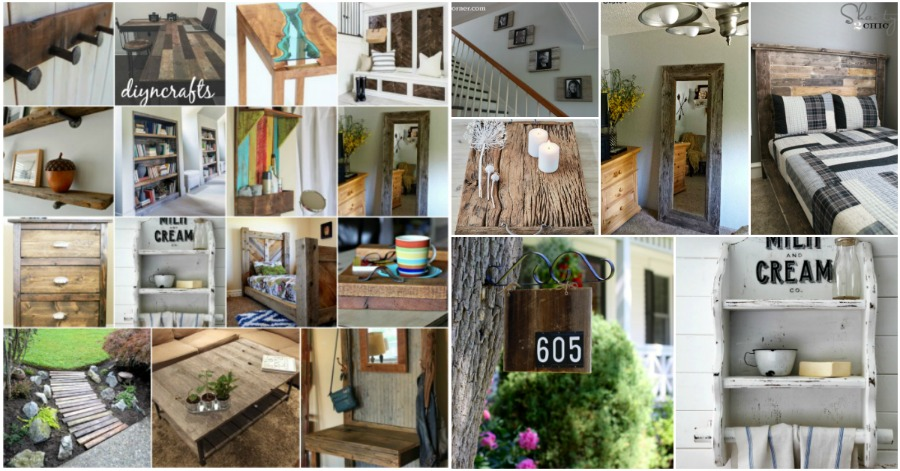 40 Beautiful And Eco Friendly Reclaimed Wood Projects That Will