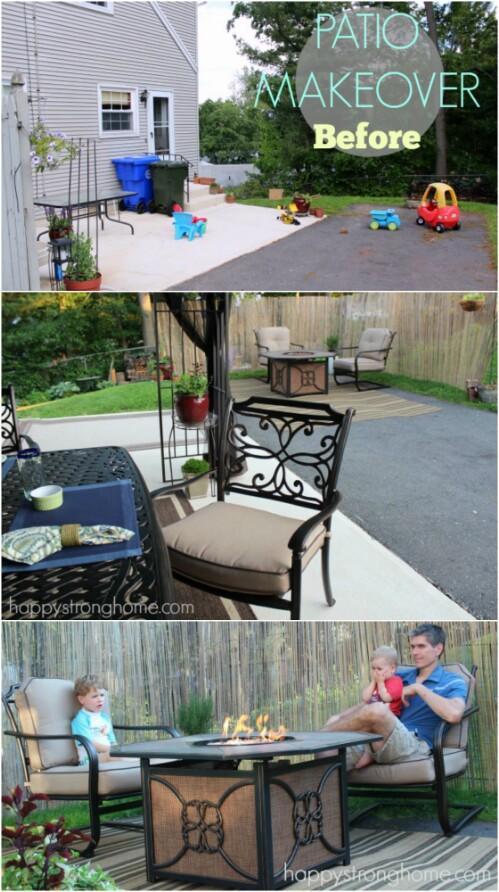 30 Amazing Patio Makeover Ideas That Will Beautify Any ... on Outdoor Patio Makeover id=65217