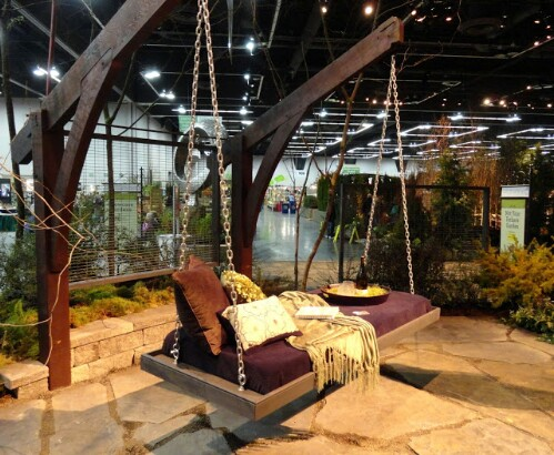 fabulous and garden swings diy patio ideas