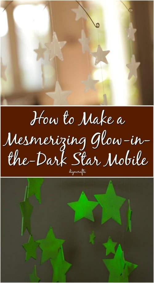 How To Make A Mesmerizing Glow In The Dark Star Mobile