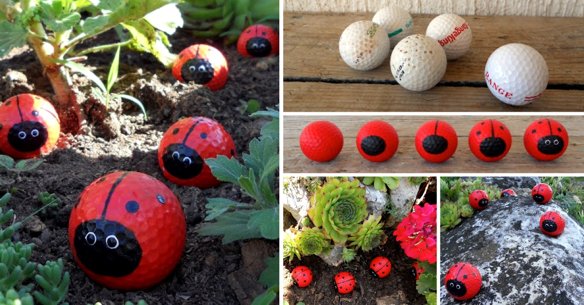 Golf Ball Decorating Ideas