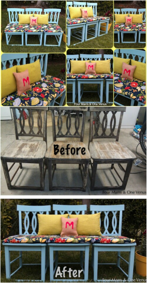 Create An Outdoor Bench