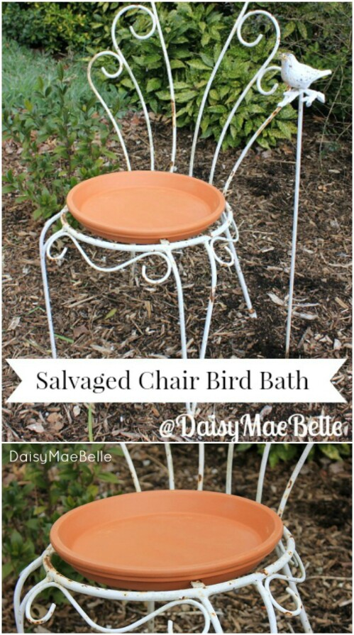 15. Make A Bird Bath