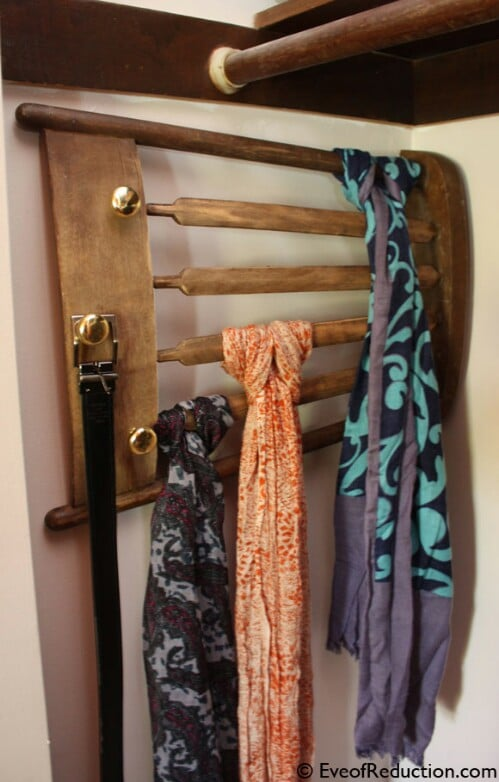 19. Make A Scarf Holder
