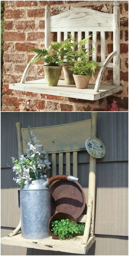 Rustic Wooden Garden Furniture