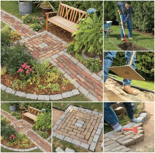 Build A Brick Path