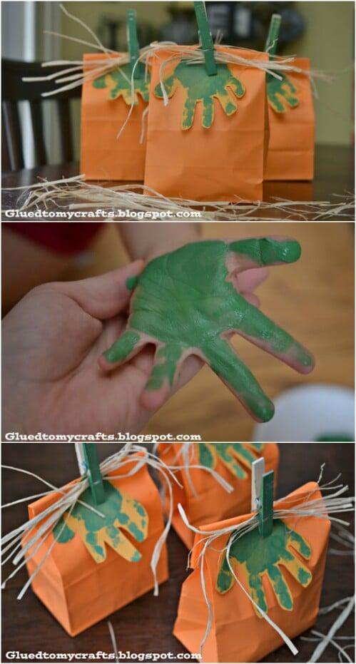 Pumpkin Gift Bags